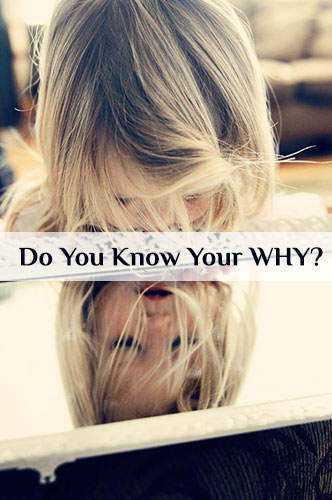Do You Know Your WHY?