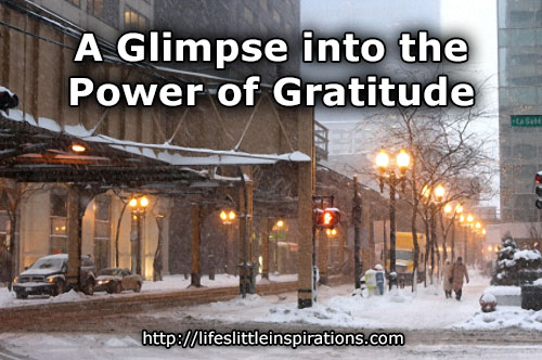 A Glimpse into the Power of Gratitude